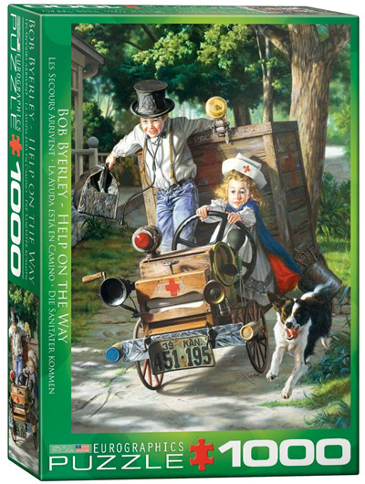Eurographics 1000 Piece Jigsaw Puzzle: Help Is On The Way