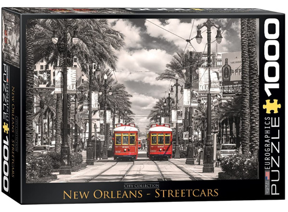 Eurographics 1000 Piece  Puzzle New Orleans Street Cars at www.puzzlesnz.co.nz
