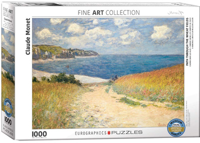 Eurographics 1000 Piece Jigsaw Puzzle: Path Through The Wheat Fields