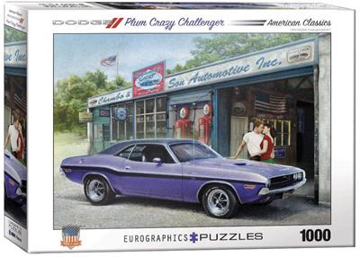 Eurographics 1000 Piece Jigsaw Puzzle: Plum Crazy Challenger