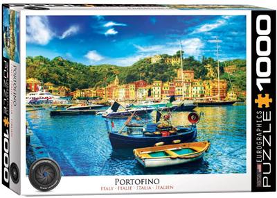 Eurographics 1000 Piece Jigsaw Puzzle: Portofino Italy