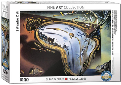 Eurographics 1000 Piece Jigsaw Puzzle: Soft Watch At First Explosion