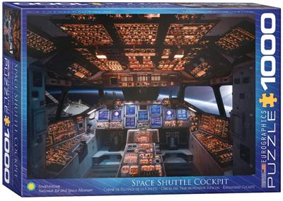Eurographics 1000 Piece Jigsaw Puzzle: Space Shuttle Cockpit