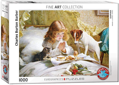 Eurographics 1000 Piece Jigsaw Puzzle: Suspense By Burton Barber