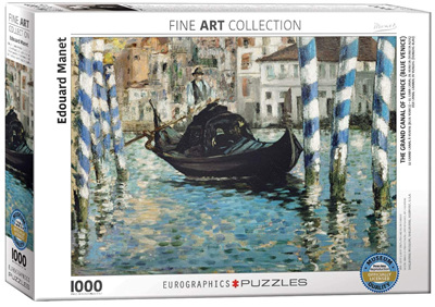 Eurographics 1000 Piece Jigsaw Puzzle: The Grand Canal Of Venice