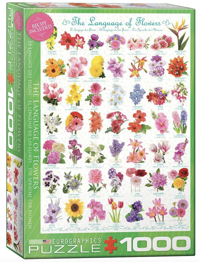 Eurographics 1000 Piece Jigsaw Puzzle: The Language Of Flowers