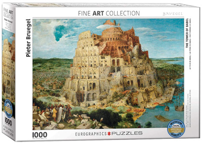 Eurographics 1000 Piece Jigsaw Puzzle: The Tower Of Babel