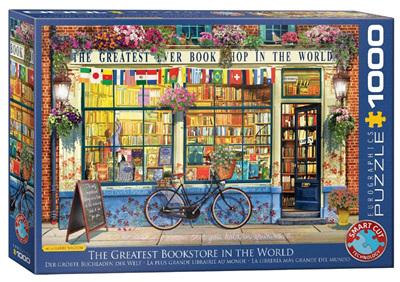Eurographics 1000 Piece Jigsaw Puzzle: World's Greatest Bookstore