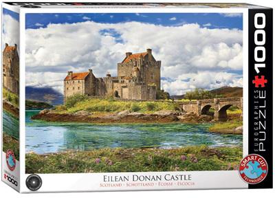 Eurographics 1000 Piece Jigsaw Puzzle: Eilean Donan Castle Scotland