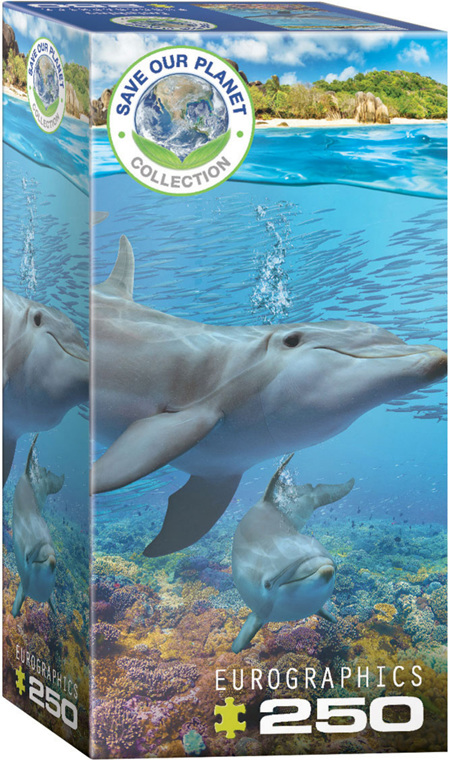 Eurographics 250 Piece Jigsaw Puzzle: Dolphins
