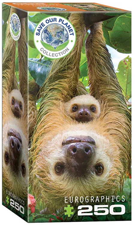 Eurographics 250 Piece Jigsaw Puzzle: Sloth