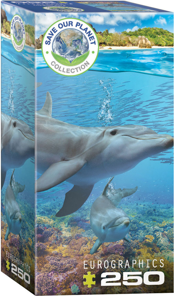 Eurographics 250 Piece Puzzle Dolphins buy at  www.puzzlesnz.co.nz