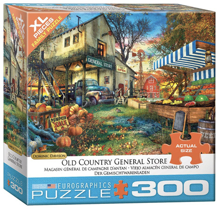 Eurographics 300XL Piece Family Jigsaw Puzzle: Old Country General Store
