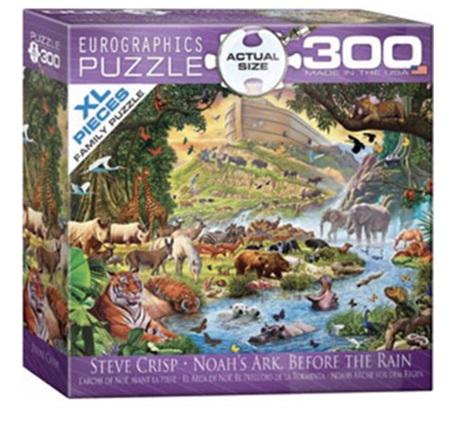 Eurographics 300XL Piece Family Jigsaw Puzzle: Steve Crisp - Noah's Ark Before The Rain