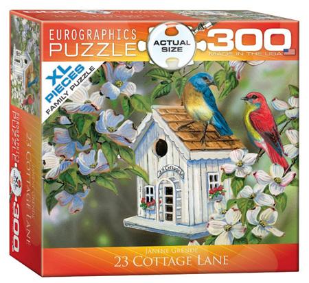 Eurographics 300XL Piece Jigsaw Puzzle: 23 Cottage Lane
