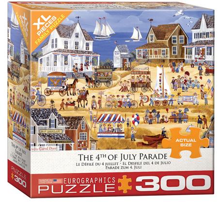Eurographics 300XL Piece Jigsaw Puzzle: 4th July Parade
