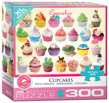 Eurographics 300XL Piece Jigsaw Puzzle: Cupcakes