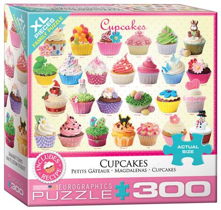 Eurographics 300XL Piece Jigsaw Puzzle: Cupcakes