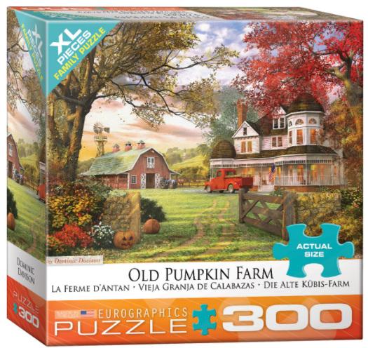 Eurographics 300XL piece Jigsaw puzzle Old Pumpkin Farm  at www.puzzlesnz.co.nz