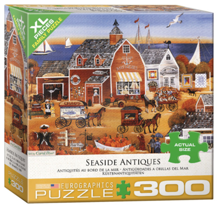 Eurographics 300XL Piece  Jigsaw Puzzle:   Seaside Antiques
