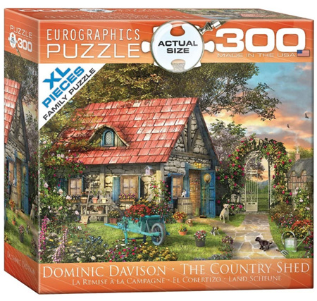 Eurographics 300XL Piece Jigsaw Puzzle: The Country Shed
