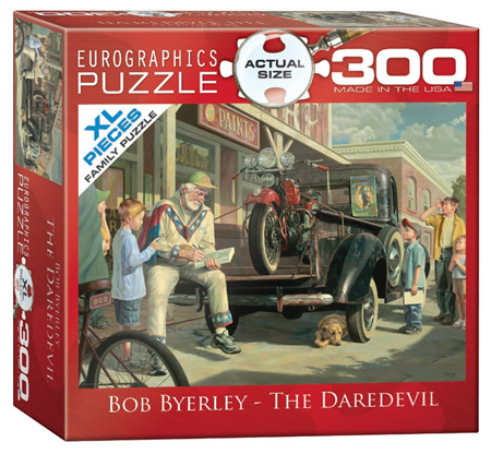Eurographics 300XL Piece Jigsaw Puzzle: The Daredevil