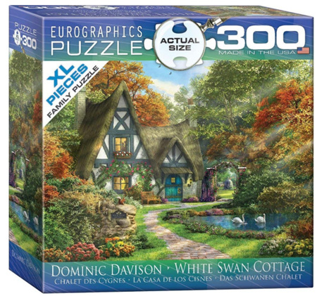 Eurographics 300XL Piece  Jigsaw Puzzle:   White Swan Cottage