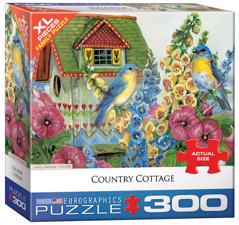 Eurographics 300XL Piece Puzzle  Country Cottage buy at www.puzzlesnz.co.nz