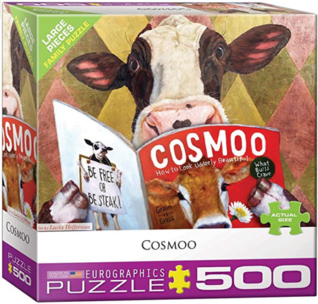 Eurographics 500 Larger  Piece Jigsaw Puzzle: Cosmoo