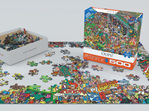 Eurographics 500 larger piece Jigsaw puzzle Oops! at www.puzzlesnz.co.nz
