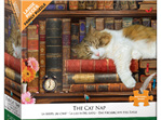 Eurographics 500 Larger Piece Jigsaw Puzzle: The Cat Nap at www.puzzlesnz.co.nz