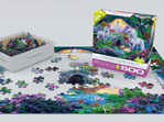 Eurographics 500 larger piece puzzle Unicorns Fairyland at www.puzzlesnz.co.nz