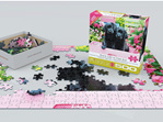Eurographics 500LP Piece Puzzle  Black Labs Pink Box buy at www.puzzlesnz.co.nz