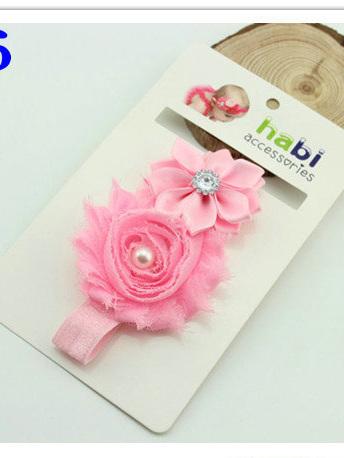 European designed headband Pink no.6