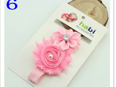 European designed headband Pink no.6