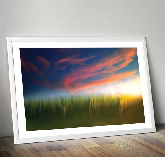Evening Glow Print
