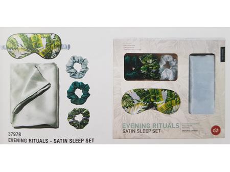 Evening Rituals - Satin Sleep set