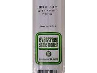 Evergreen 178 Strip Styrene - 2.5 x 4.8mm Strips