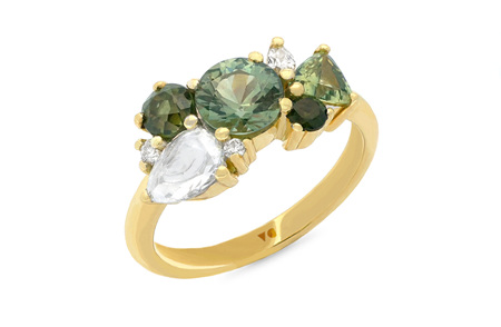 Evergreen Cluster Ring