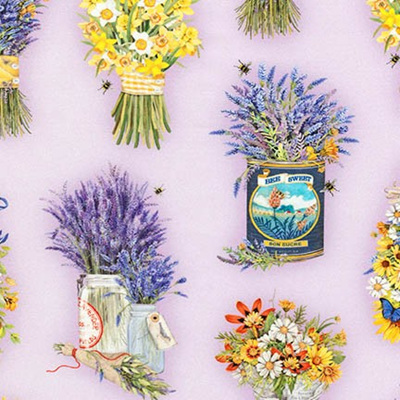 Everyday Favourites - Lavender & Daffodils
