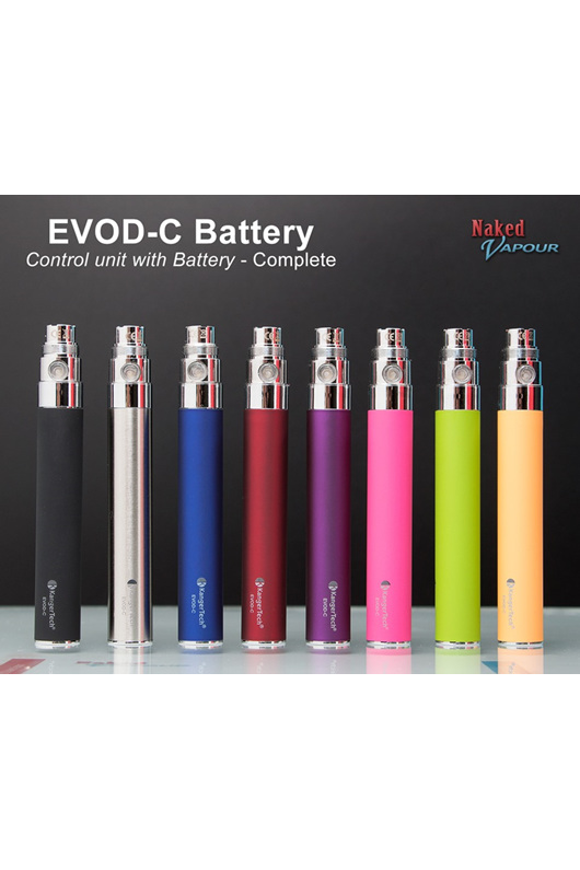 Evod C Battery Complete Naked Vapour