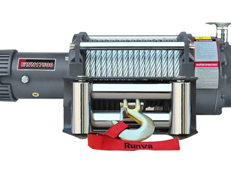 EWN17500 (17,500lb) 12V / 24V Winch (With Steel Cable)