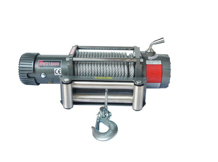 EWX12000 (12,000lb) 12V / 24V Winch (With Steel Cable)