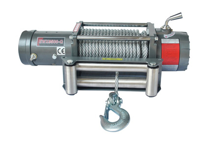 EWX9500-Q (9,500lb) 12V / 24V Winch (With Steel Cable)