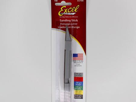 Excel 55678 Sanding Stick 80 Grit with Spare Belt
