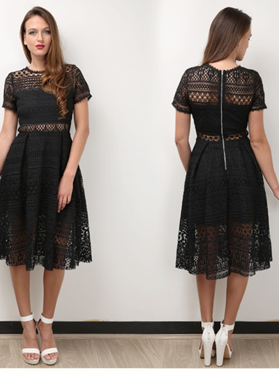 Exclusive Lace Dress