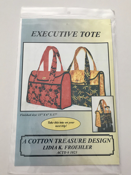 Executive Tote Pattern