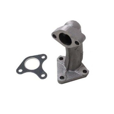 Exhaust Pipe and Gasket for 9hp to 16hp Petrol Engines