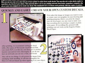 Experts Choice Decal Paper - Clear for Ink Jet