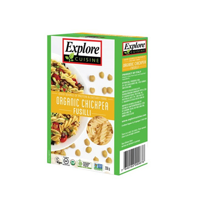Explore Cuisin Organic Fusilli Chickpea 250g